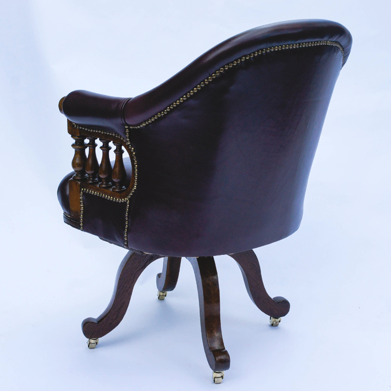 - Antique Desk Chairs And Antique Library Chairs