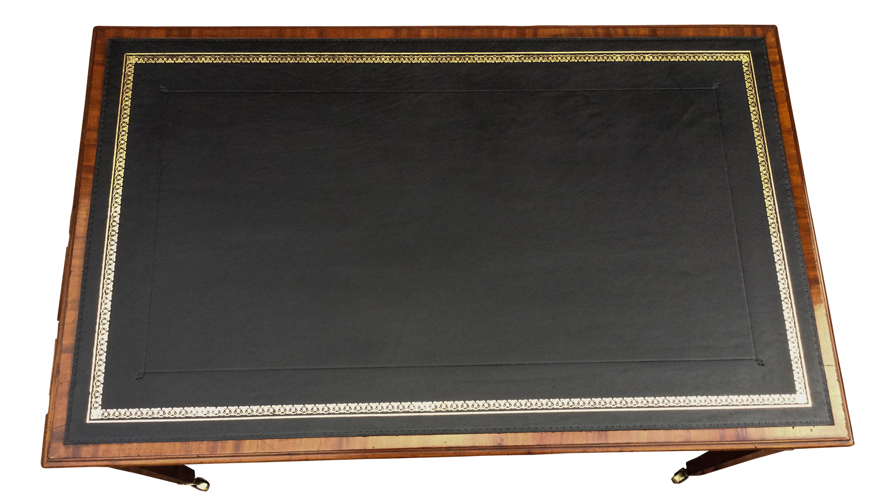Antique Georgian Gany Library Table Or Writing Desk