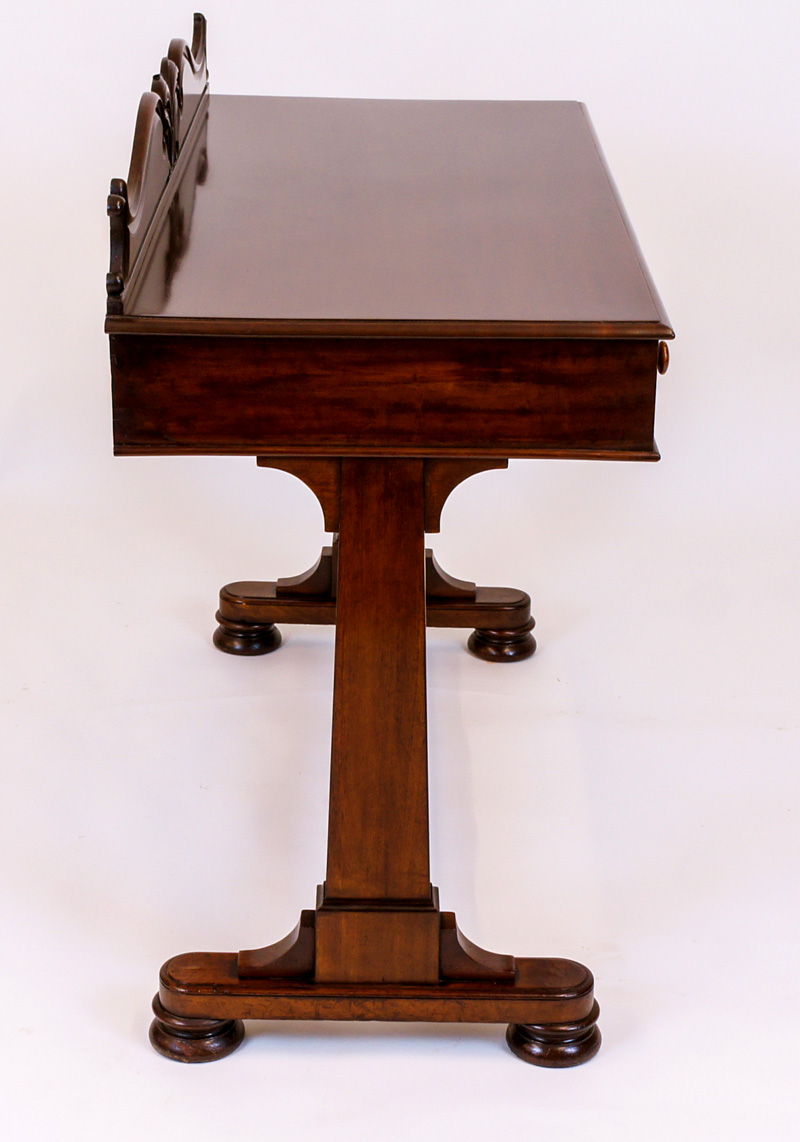 Antique Mahogany Side Table Or Writing Table