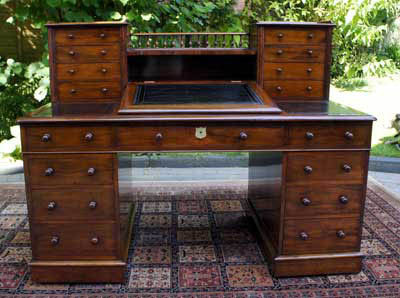 During the period 1830 - 1870 they often had rounded edges and moulding's  to the drawer. Antique Desk Hutch ... - Antique Desk Hutch Antique Furniture