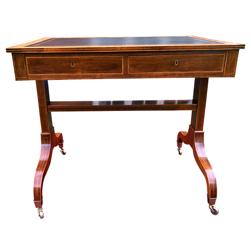 Antique Sheraton Writing Desk