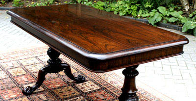 Antique 'Gillows' Rosewood Writing Table