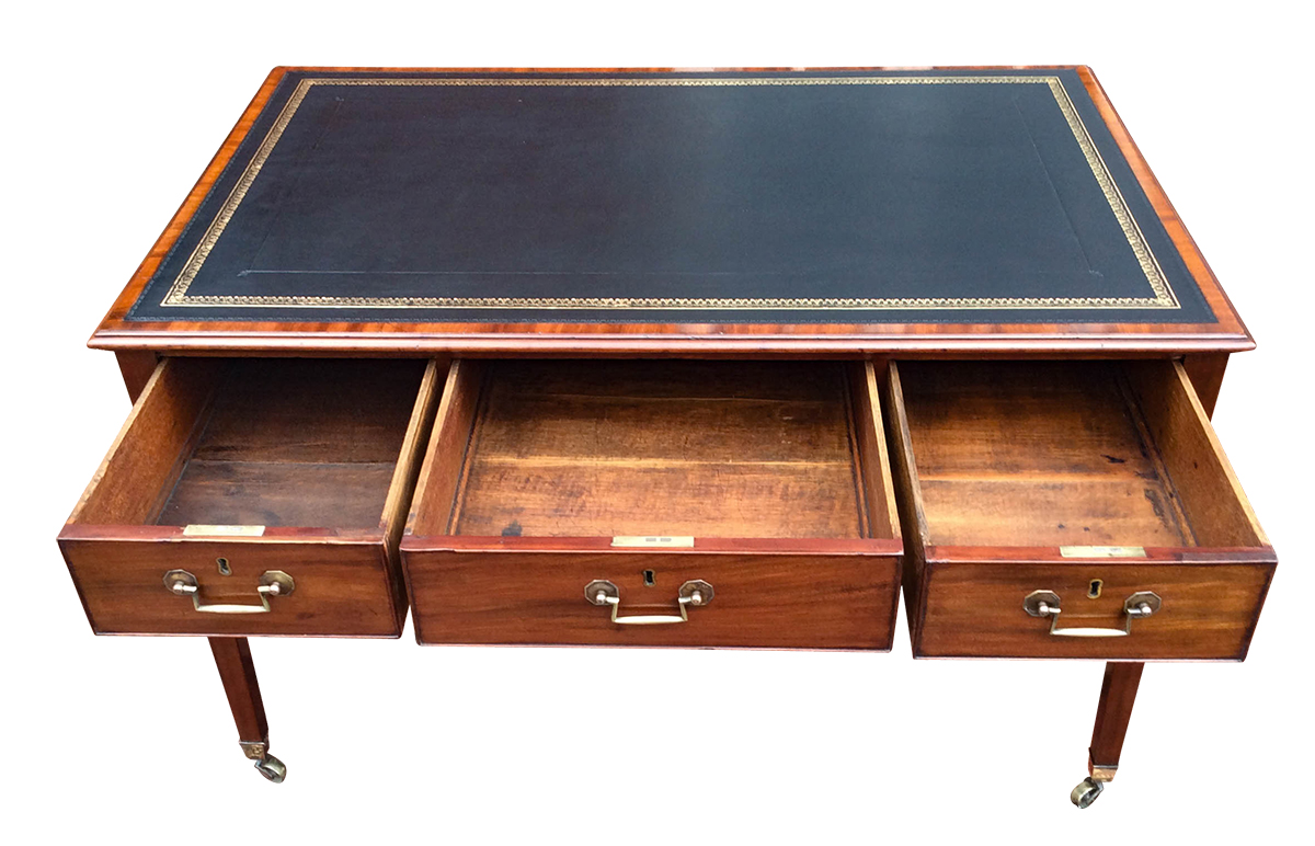 Antique Desk Drawers