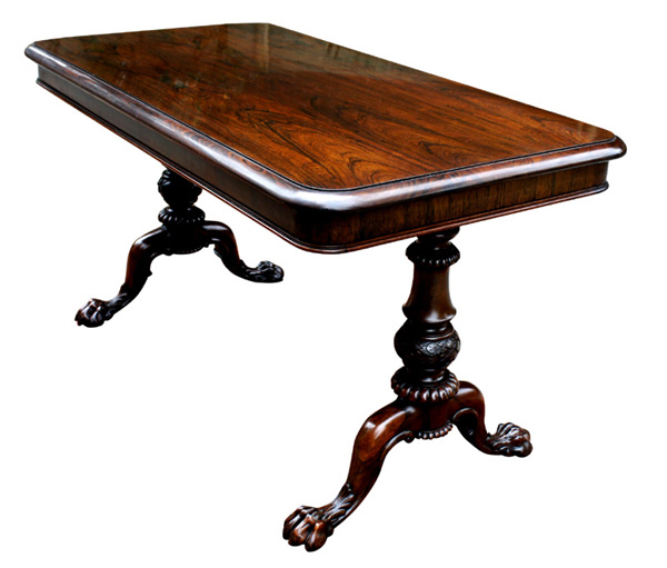Antique Gillows Rosewood Writing Table