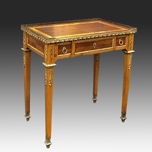 Antique French Neoclassical Writing Table or Small Desk