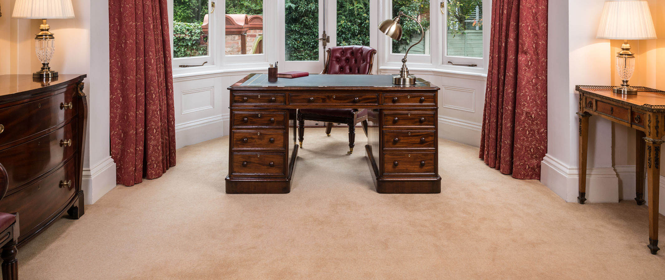 Antique Desks, Partners Desks, Desk Chairs
