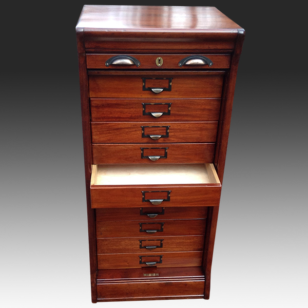 Antique Furniture Filing Cabinet