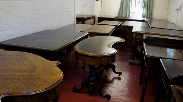 How to purchase our antique desks and office furniture for Furniture kidderminster
